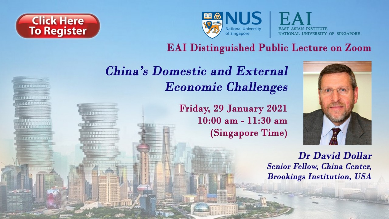 Webinar on China's Domestic and External Economic Challenges