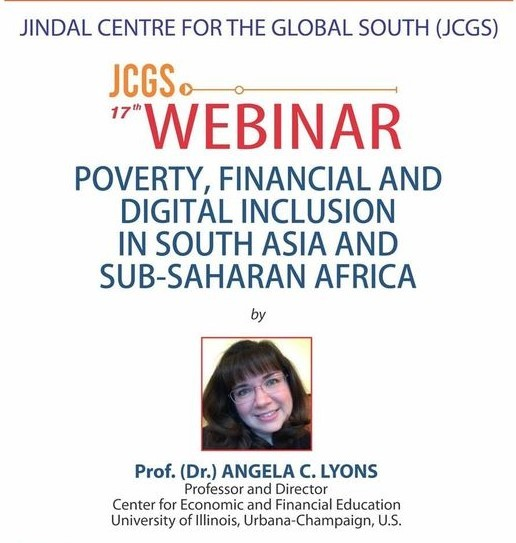 Webinar on Poverty, Financial and Digital Inclusion in South Asia and Sub-Saharan Africa
