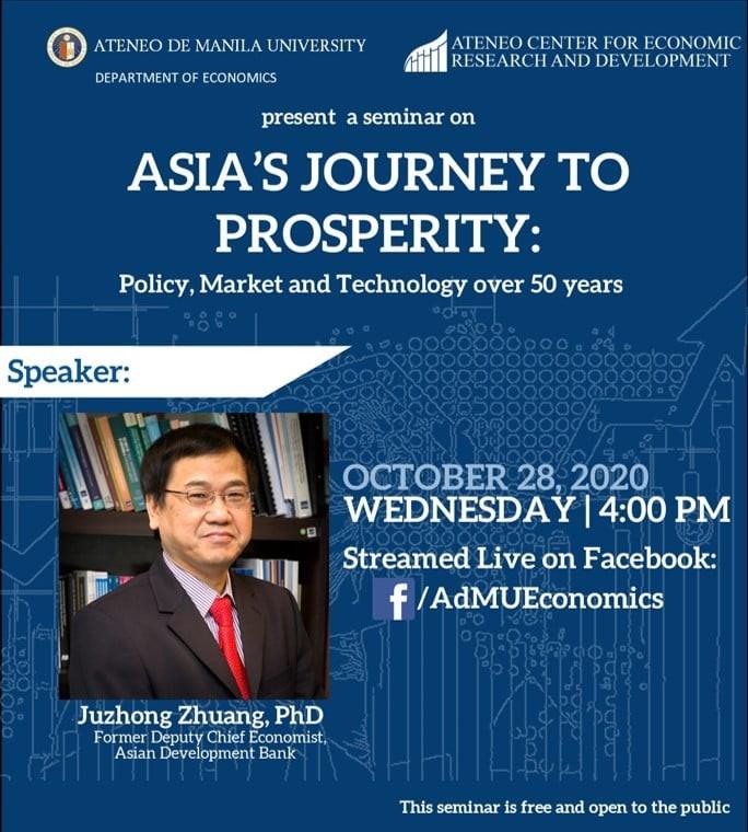 Webinar on Asia's Journey to Prosperity